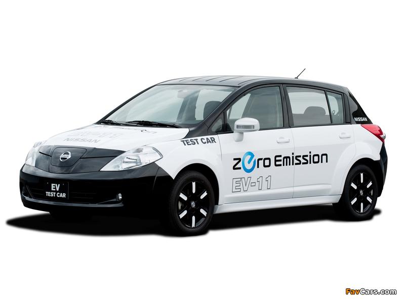 Images of Nissan EV-11 Test Car 2009 (800 x 600)