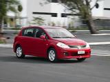 Images of Nissan Tiida Hatchback BR-spec (C11) 2010
