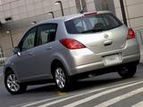 Nissan Tiida Hatchback ZA-spec (C11) 2004–08 images