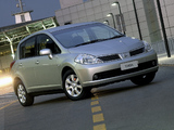 Nissan Tiida Hatchback ZA-spec (C11) 2004–08 pictures