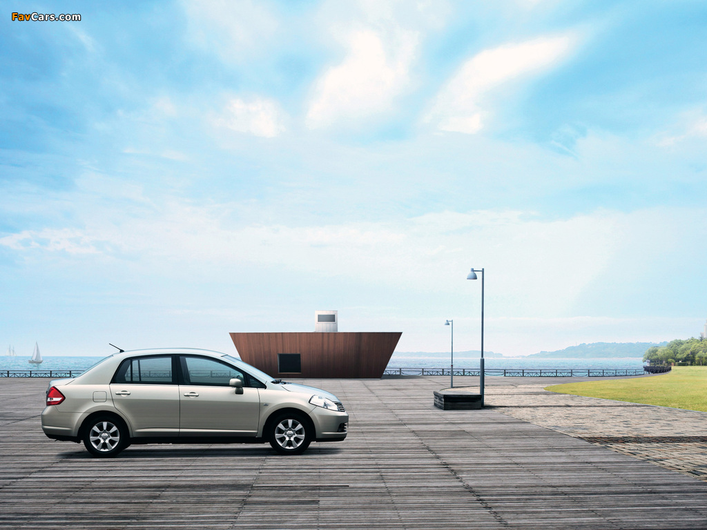 Nissan Tiida Sedan CN-spec (SC11) 2005–08 pictures (1024 x 768)
