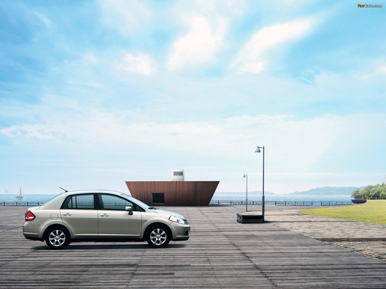 Nissan Tiida Sedan CN-spec (SC11) 2005–08 pictures (1600 x 1200)