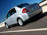 Nissan Tiida Sedan ZA-spec (SC11) 2005–08 wallpapers