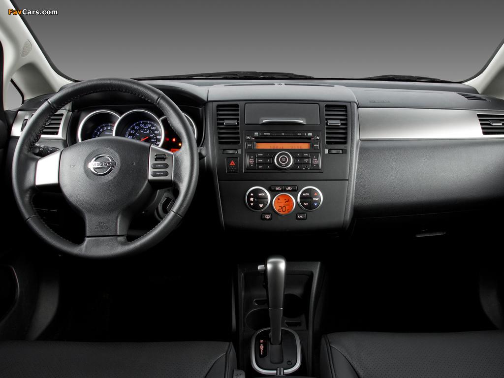 Nissan Tiida Hatchback BR-spec (C11) 2008–10 wallpapers (1024 x 768)