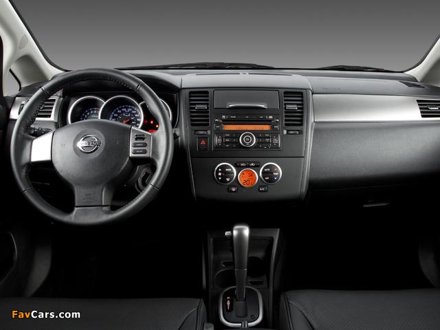 Nissan Tiida Hatchback BR-spec (C11) 2008–10 wallpapers (640 x 480)