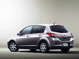 Nissan Tiida Hatchback JP-spec (C11) 2008–12 wallpapers