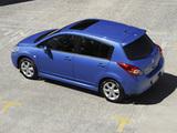 Nissan Tiida Hatchback AU-spec (C11) 2010 pictures
