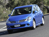 Nissan Tiida Hatchback AU-spec (C11) 2010 wallpapers