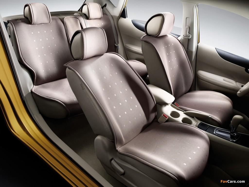 Nissan Tiida Hatchback CN-spec (C12) 2011 images (1024 x 768)