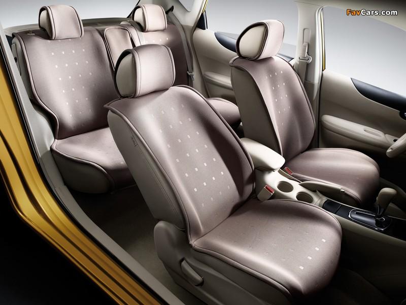 Nissan Tiida Hatchback CN-spec (C12) 2011 images (800 x 600)
