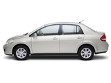 Photos of Nissan Tiida Sedan (SC11) 2007–10