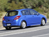 Photos of Nissan Tiida Hatchback AU-spec (C11) 2010