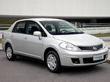 Photos of Nissan Tiida Sedan BR-spec (SC11) 2010