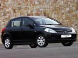 Pictures of Nissan Tiida Hatchback ZA-spec (C11) 2004–08