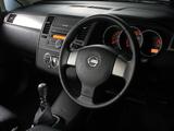 Nissan Tiida Hatchback ZA-spec (C11) 2004–08 wallpapers