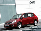 Nissan Tiida Hatchback (C11) 2007–10 wallpapers