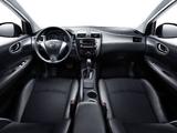 Nissan Tiida DIG Turbo Hatchback CN-spec (C12) 2011 wallpapers