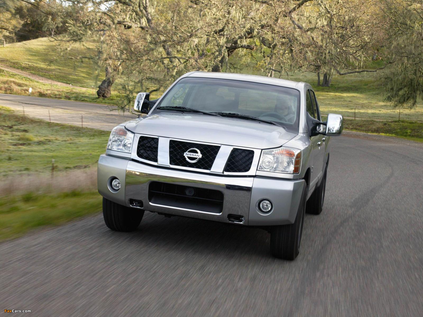 Images of Nissan Titan Crew Cab 2004–07 (1600 x 1200)