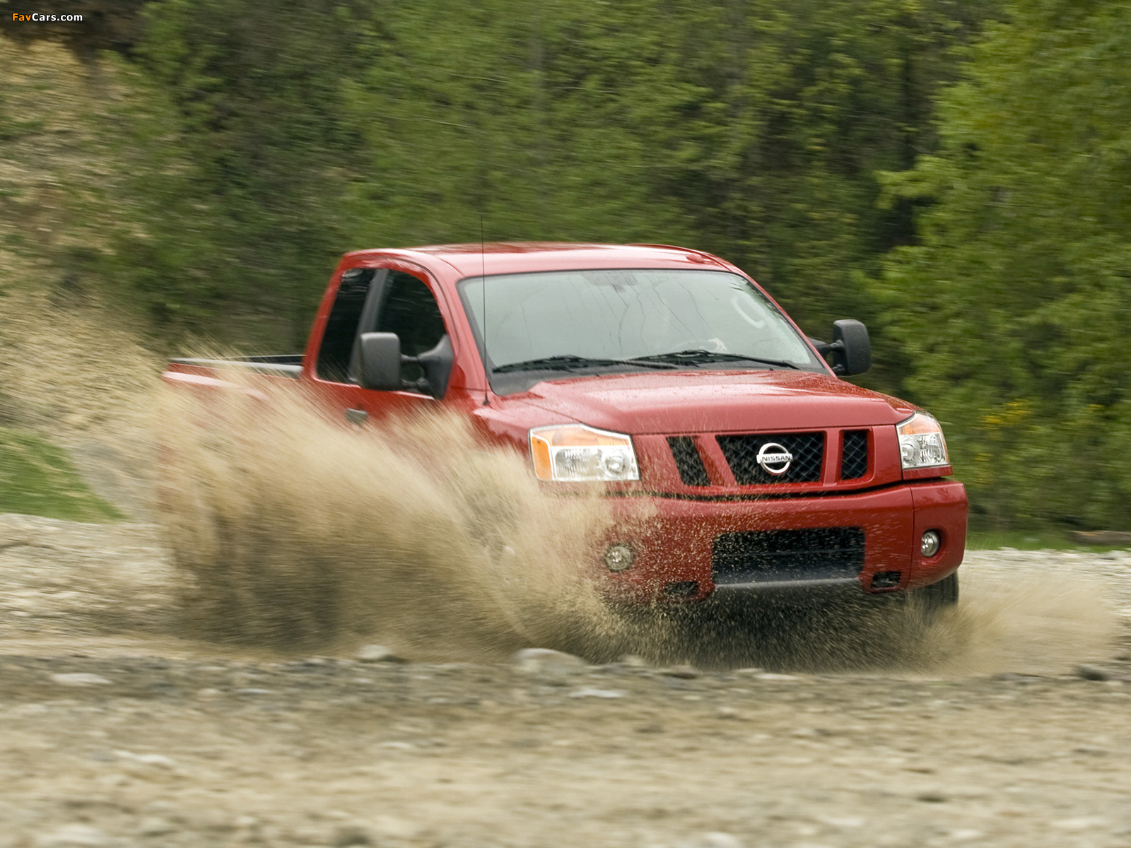 Images of Nissan Titan King Cab 2007 (1600 x 1200)