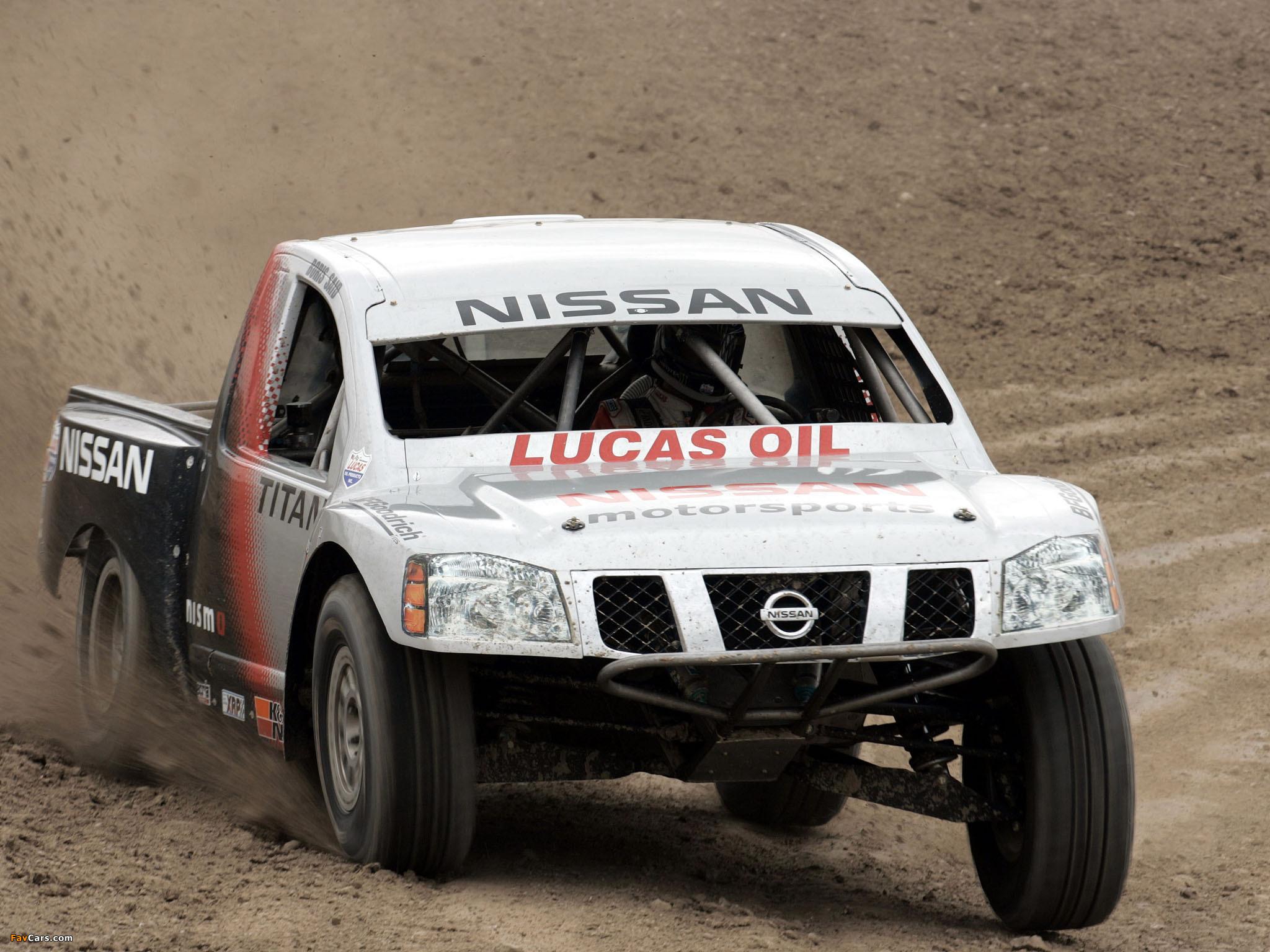 Images of Nissan Titan PRO 4x4 Race Truck 2007 (2048 x 1536)