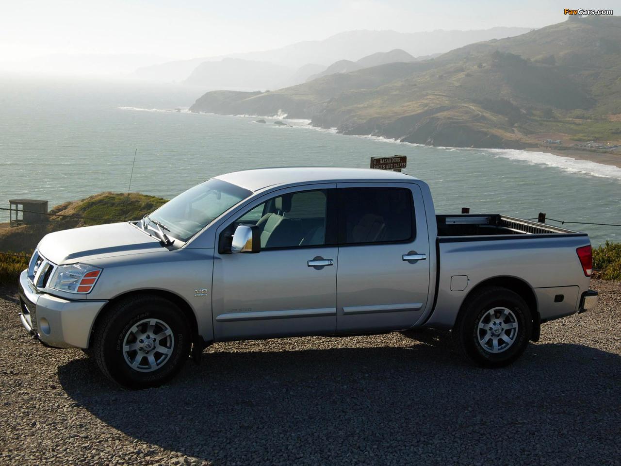 Nissan Titan Crew Cab 2004–07 images (1280 x 960)