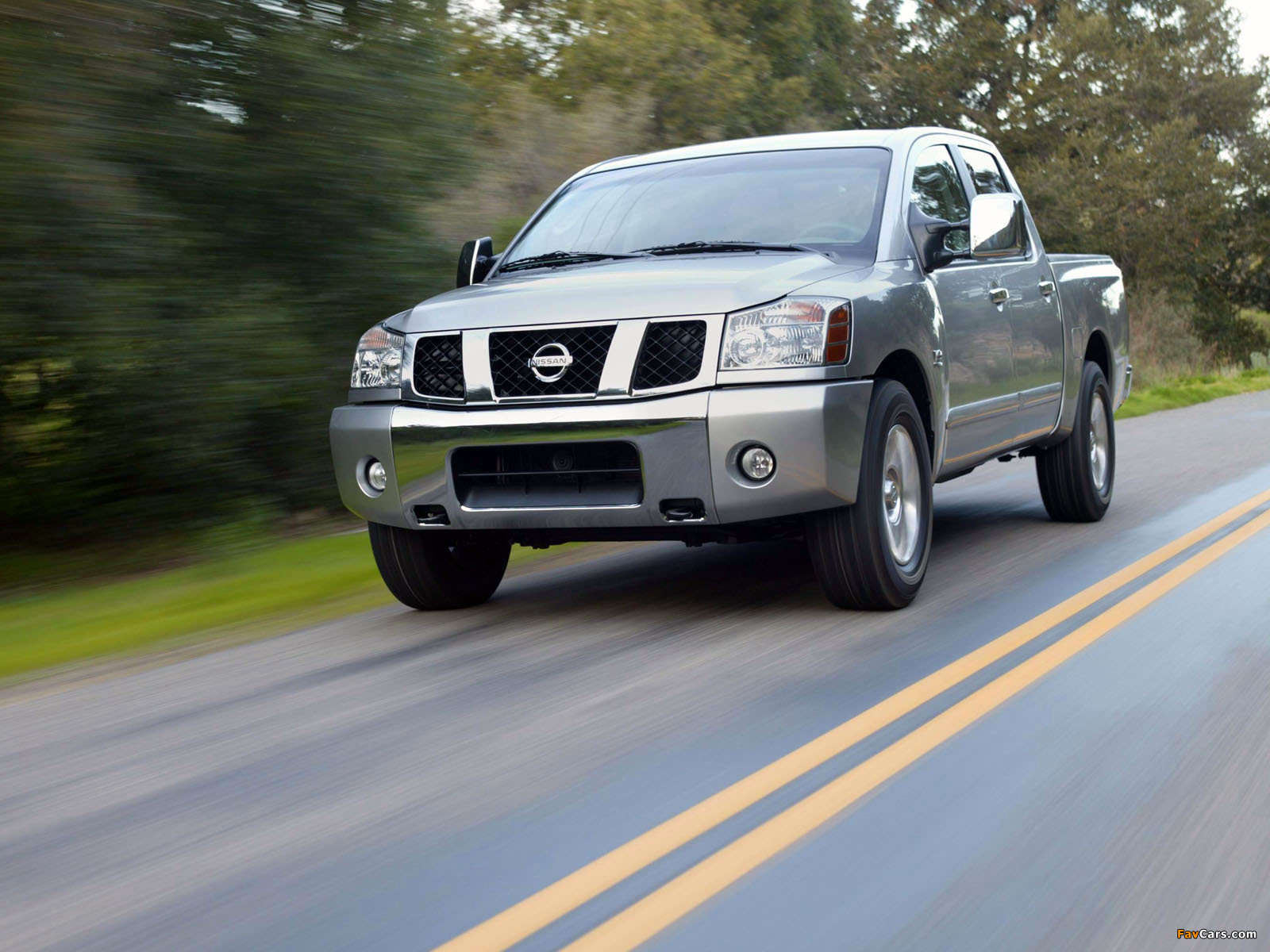 Nissan Titan Crew Cab 2004–07 photos (1600 x 1200)