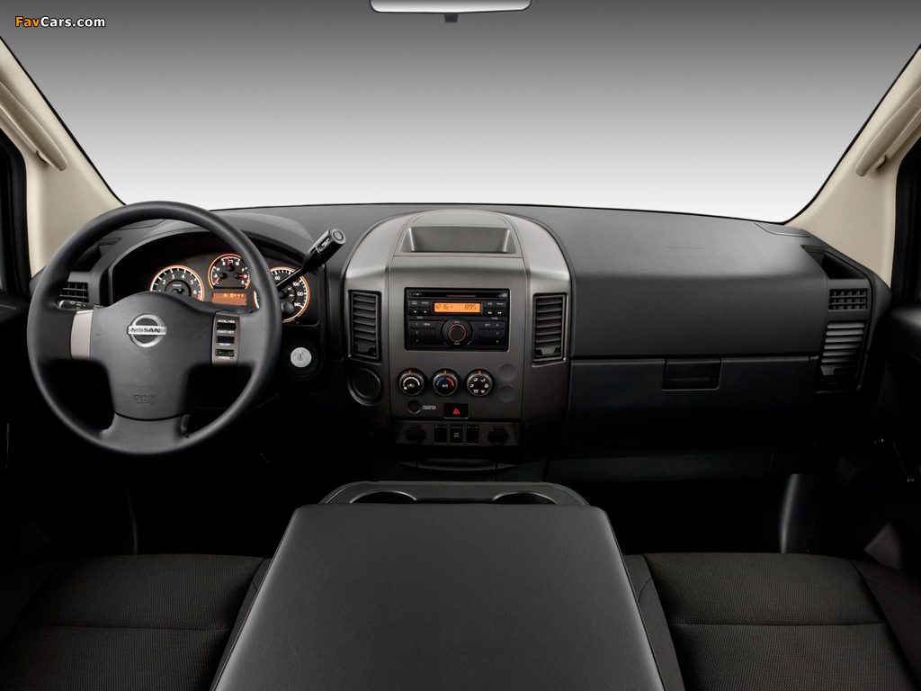 Nissan Titan King Cab 2007 images (1024 x 768)