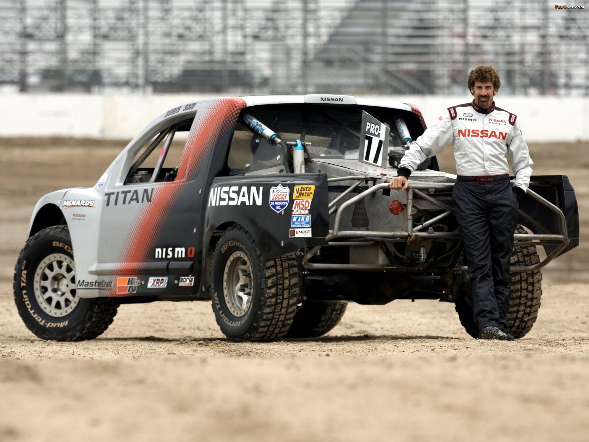 Nissan Titan PRO 4x4 Race Truck 2007 photos (2048 x 1536)