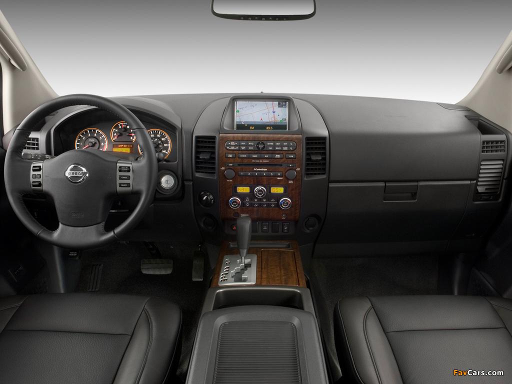 Nissan Titan Crew Cab 2007 wallpapers (1024 x 768)