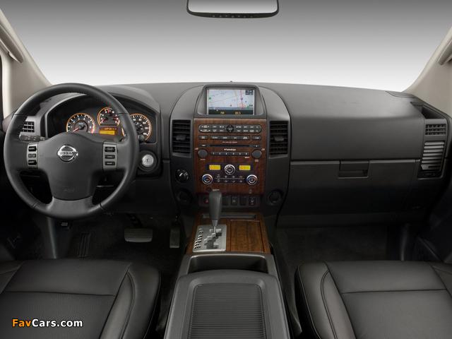 Nissan Titan Crew Cab 2007 wallpapers (640 x 480)