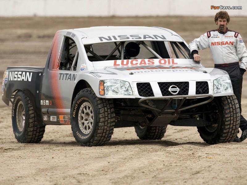 Nissan Titan PRO 4x4 Race Truck 2007 wallpapers (800 x 600)