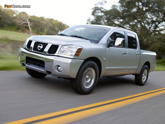 Photos of Nissan Titan Crew Cab 2004–07 (640 x 480)