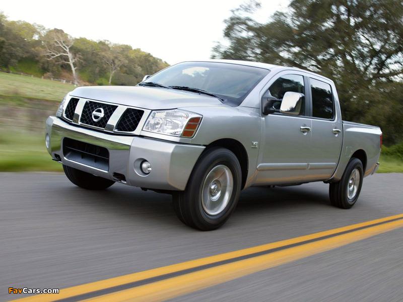 Photos of Nissan Titan Crew Cab 2004–07 (800 x 600)