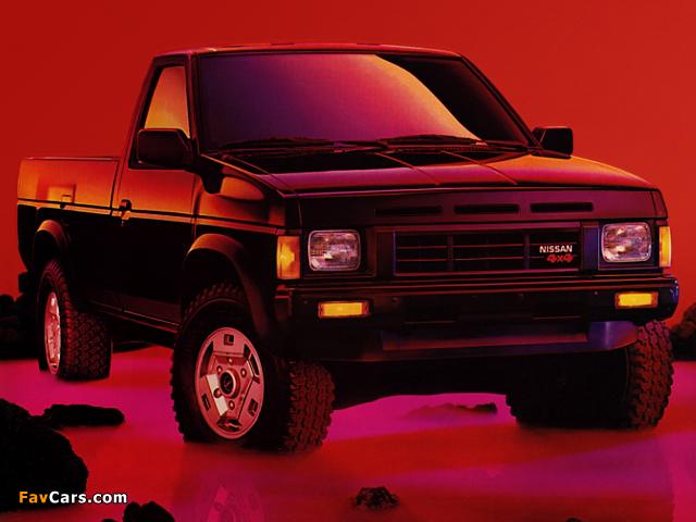 Images of Nissan Truck SE 4x4 Standard Cab (D21) 1986–89 (640 x 480)