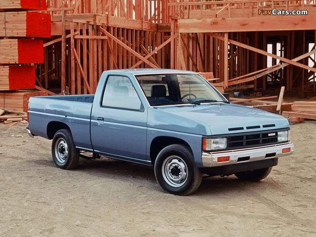 Nissan Truck 4x2 Standard Cab (D21) 1986–89 wallpapers (640 x 480)