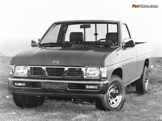 Pictures of Nissan Truck 4x2 Standard Cab (D21) 1993–97 (640 x 480)