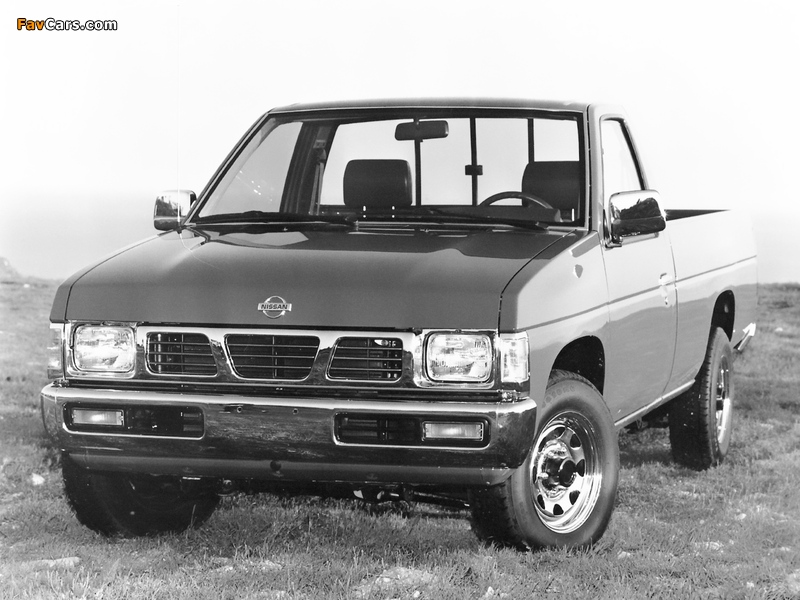 Pictures of Nissan Truck 4x2 Standard Cab (D21) 1993–97 (800 x 600)
