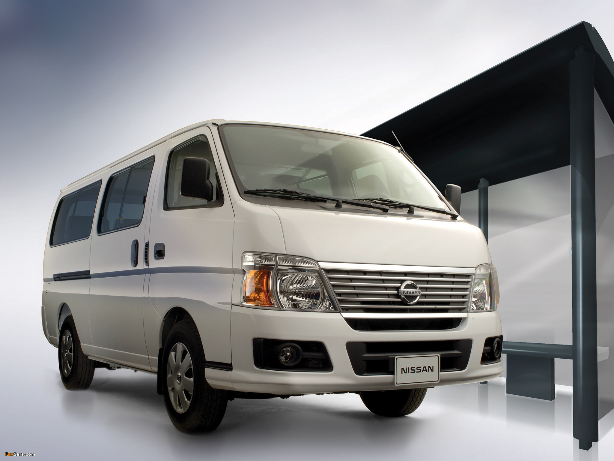 nissan urvan bus e25 2007 wallpapers 2048x1536. Black Bedroom Furniture Sets. Home Design Ideas