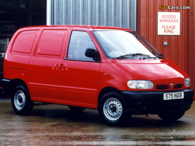 Images of Nissan Vanette E UK-spec (C23) 1995–2001 (640 x 480)