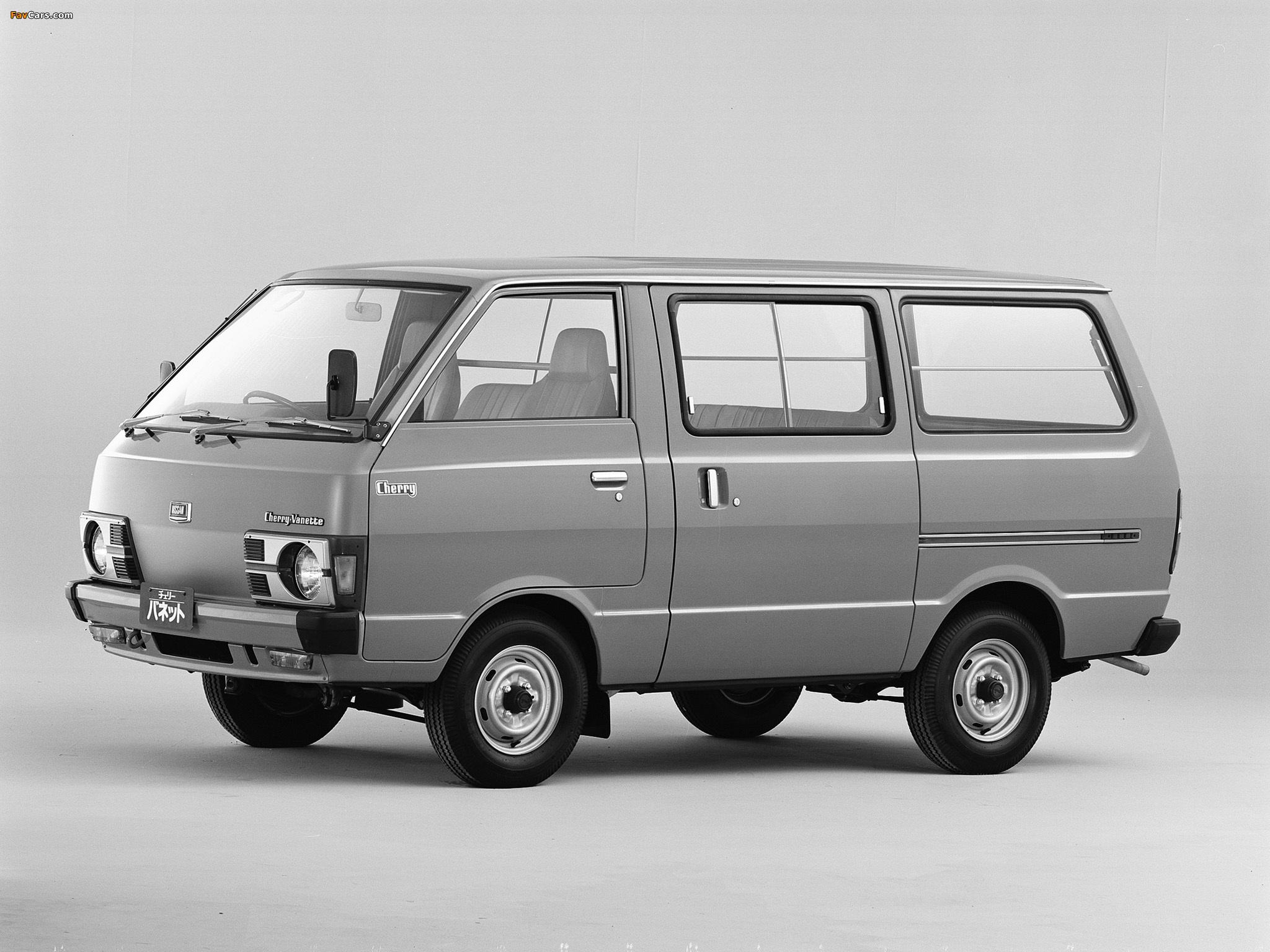 Nissan Cherry Vanette Van (C120) 1978–85 pictures (2048 x 1536)