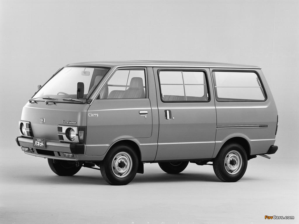 Nissan Cherry Vanette Van (C120) 1978–85 pictures (1024 x 768)