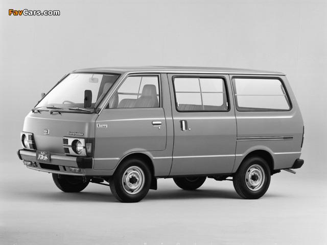 Nissan Cherry Vanette Van (C120) 1978–85 pictures (640 x 480)