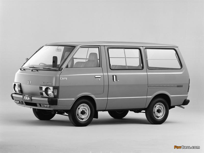 Nissan Cherry Vanette Van (C120) 1978–85 pictures (800 x 600)