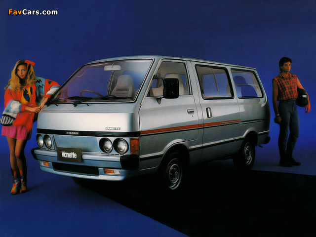 Nissan Datsun Vanette Van (C120) 1980–85 photos (640 x 480)
