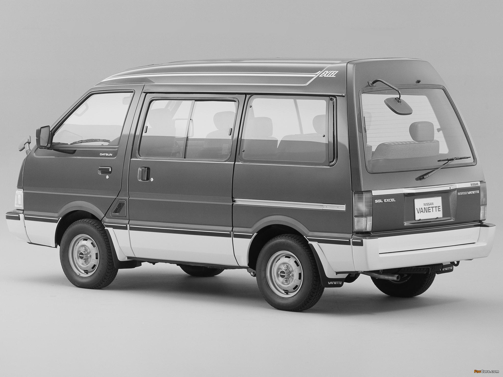 Nissan Vanette (C22) 1985–94 images (2048 x 1536)