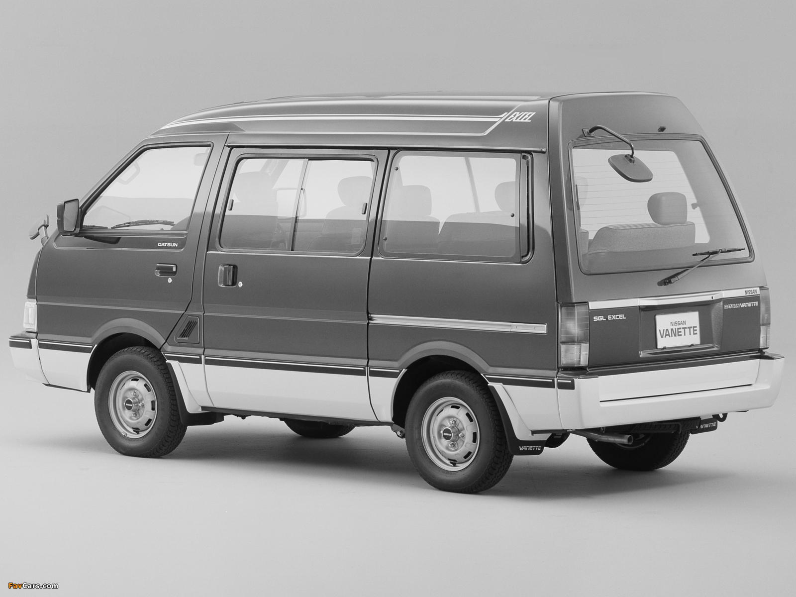 Nissan Vanette (C22) 1985–94 images (1600 x 1200)