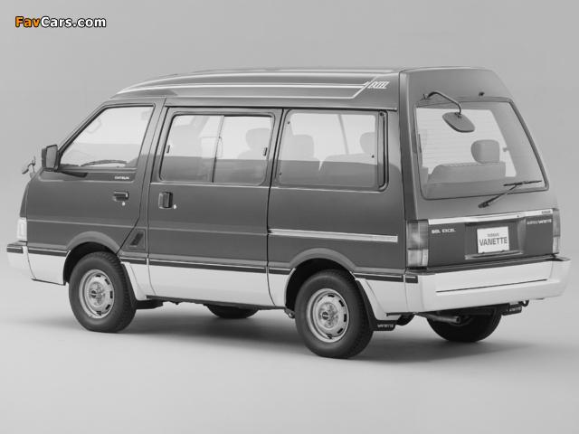 Nissan Vanette (C22) 1985–94 images (640 x 480)