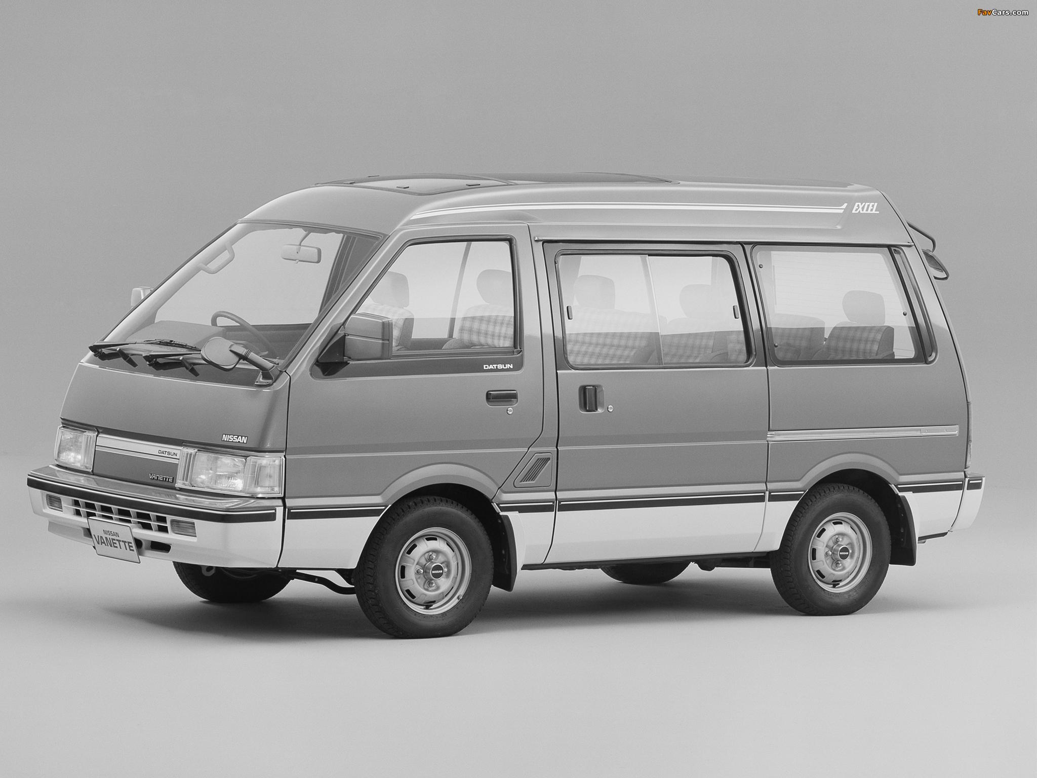 Nissan Vanette (C22) 1985–94 wallpapers (2048 x 1536)