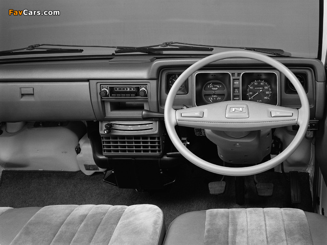 Pictures of Nissan Sunny Vanette Coach (C120) 1978–85 (640 x 480)