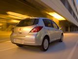 Images of Nissan Versa Hatchback 2006–09